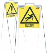 Steel Frame Free-standing Frame Safety Signs